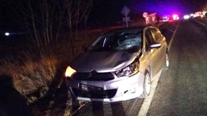 Accident mortal în Timiș! Victima, lovită de patru mașini