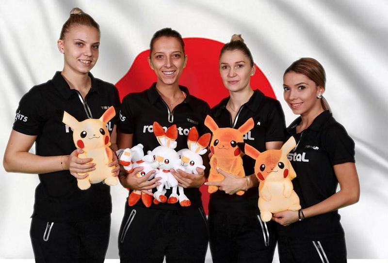 Arădeanca Dodean, component a echipei naţionale de tenis feminin, calificată la Jocurile Olimpice de la Tokyo