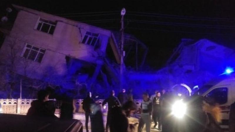 Cutremur de 6,8 grade în estul Turciei!