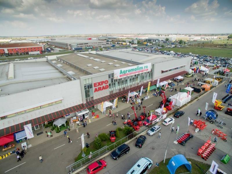 Centrul expozițional Expo Arad este gazda unora dintre cele mai importante evenimente şi în 2020