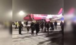 Un avion cu pasageri români a luat FOC pe pista de la Debrecen, Ungaria. AFLĂ ce s-a întâmplat
