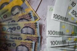 Euro şi Dolarul încep anul în scădere