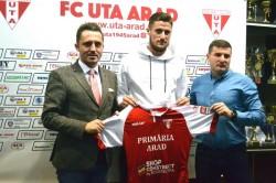 """Radu Crișan este noul fundaș al UTA-ei! """"Mă bucur că am ajuns la un club mare"""""""