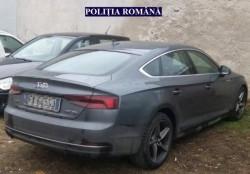 Autoturism căutat în Italia, depistat la Pâncota