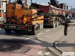 Alt șantier, alte restricții în trafic. Continuă lucrările la canalizare din municipiu