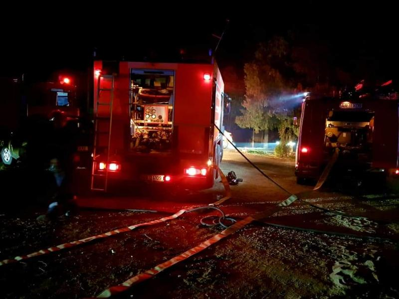 Pompierii arădeni au intervenit în 39 de cazuri, miercuri noaptea