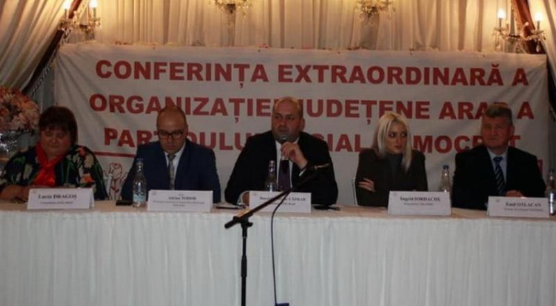 Căprar s-a reales preşedinte, dar boşii  de la centru îl preferă pe Fifor aşa că telenovela la PSD Arad  continuă!