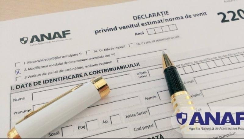 ANAF schimbă formularele. Ce trebuie să completeze românii până în luna mai