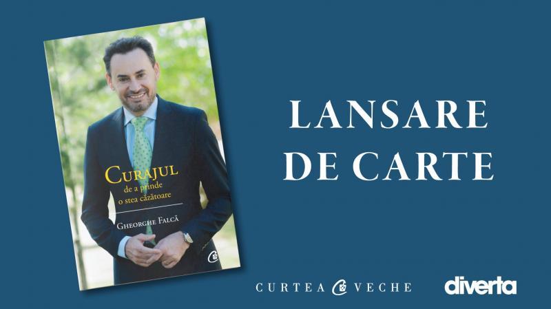 Gheorghe Falcă își lansează cea de-a doua carte!