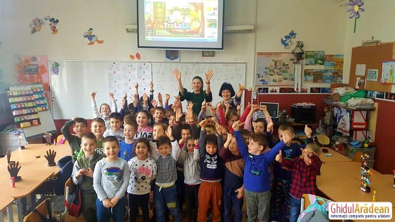 Liceul cu Program Sportiv din Arad și-a deschis porțile pentru micii vizitatori