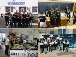 """Echipa de robotică a juniorilor de la Liceul Național de Informatică a câștigat trofeul """"stea în devenire"""" la concursul regional de robotică """"FIRST® LEGO® League"""""""