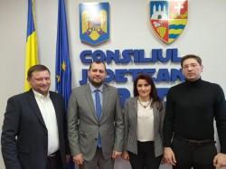 Vizită din Republica Moldova, la Consiliul Județean Arad