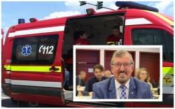 """Vasile Ciceac: ,,Am solicitat și am primit o ambulanță pentru SMURD Nădlac"""""""