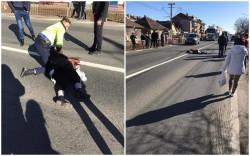 Două femei, accidentate pe trecerea de pietoni în Vladimirescu !