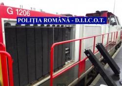Furt de componente locomotive cu prejudiciu de un milion de euro