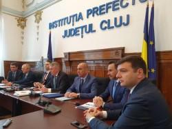 Alianţa Vestului a discutat proiecte regionale importante cu ministrul Transporturilor