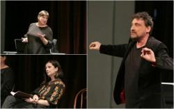 """""""Cu suflet, pentru suflete, azi... spectacol de poezie""""- o primă întâlnire din cadrul unui nou proiect al Teatrului Clasic """"Ioan Slavici"""" Arad"""