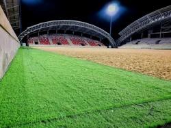 """A fost atribuit contractul pentru finalizarea stadionului """"Francisc Neuman"""" . Urmează semnarea contractului"""