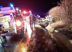 GRAV accident rutier pe drumul Arad-Oradea, vineri seara