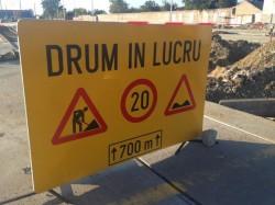 De luni, acces interzis pe strada Abatorului timp de o lună de zile