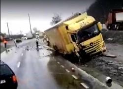 GRAV accident rutier la Bătuța, vineri dimineața