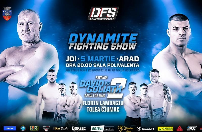 Dynamite Fighting Show la Sala Polivalentă din Arad