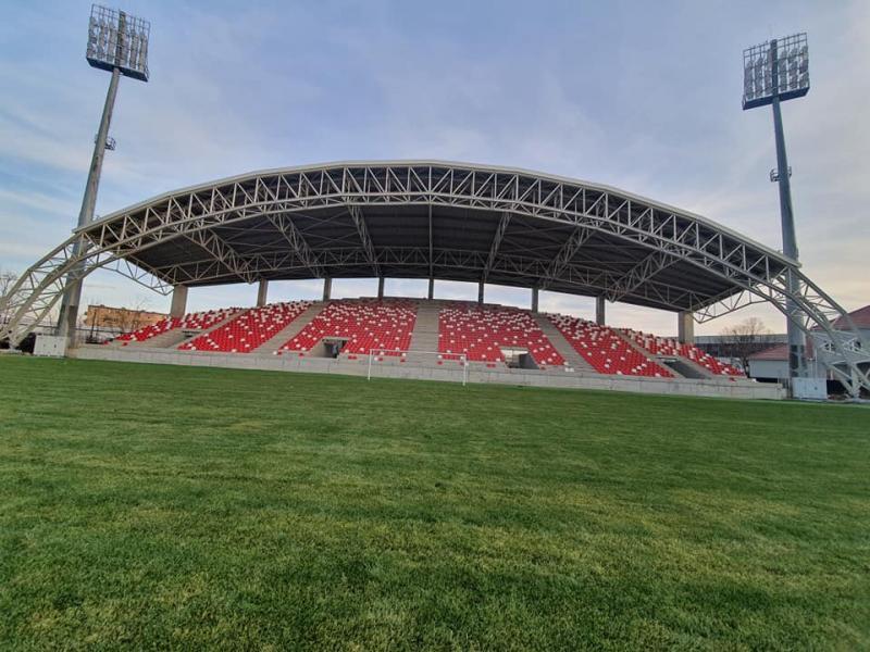 Lucrările la Stadionului Francisc Neuman au intrat în linie dreaptă și se apropie de final