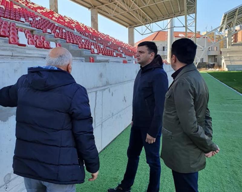 Echipa de omologare a stadionului, chemată la Arad în aprilie