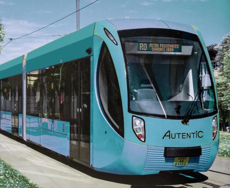 Primaria Arad achiziţionează 10 tramvaie noi