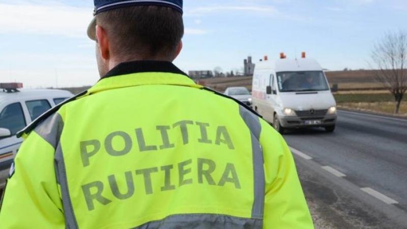 Italian prins în Vladimirescu, la volanul unui autoturism neînmatriculat