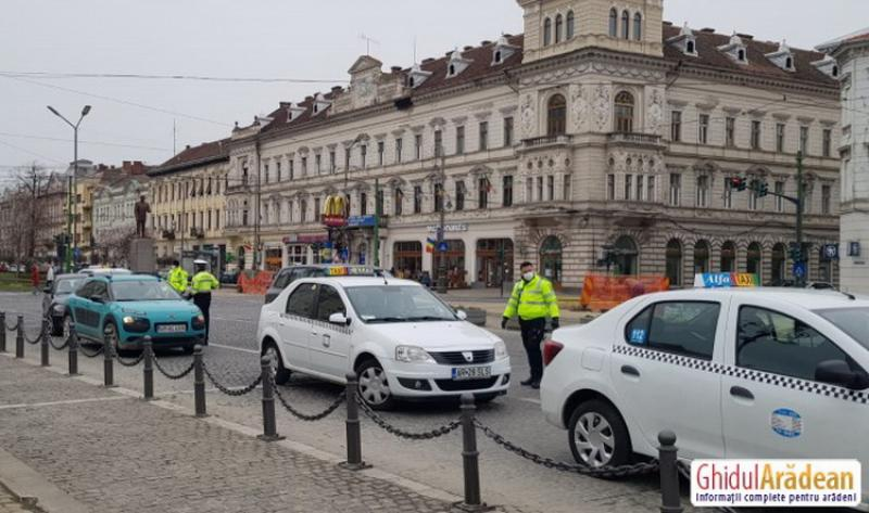 Sanţiuni aplicate de echipele mixte IPJ Arad, Jandarmi şi Poliţiei Locale pentru nerespectare prevederilor O.M.2