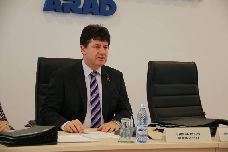 Mesaj către arădeni a președintele Consiliului Județean Arad Iustin Cionca