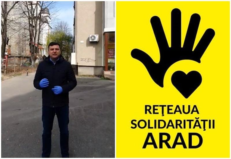 """""""Reţeaua Solidarităţii"""" din Arad coordonată de Sergiu Bîlcea"""