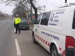 Acțiune de amploare a polițiștilor rutieri arădeni, în municipiu