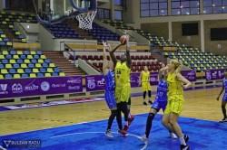 Succes în ultimul meci din sezonul regulat: FCC Baschet Arad – Olimpia CSU Brașov 78-56