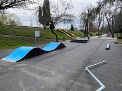 Noutăți în Parcul Copiilor (Zsolt Török) - rampe de skateboard