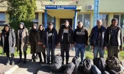 Coronavirus nu-i sperie pe migranți. Nouă cetățeni sirieni, opriți  la frontiera cu Ungaria