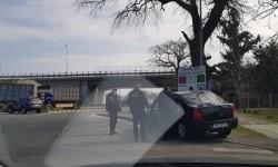 Coborârile de pe Autostrada A1 în Municipiul Arad păzite de Poliția locală