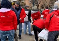 Dosar penal în cazul PSD-istilor care împărțeau pomeni în Capitală !