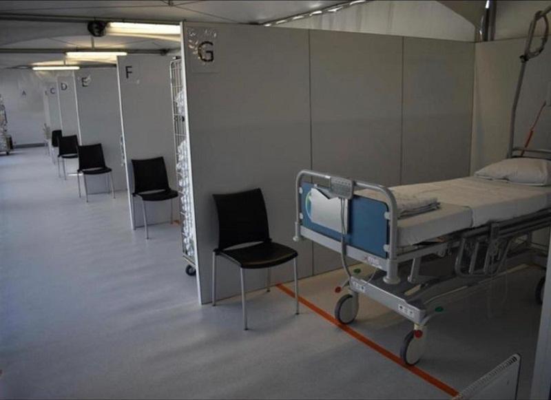 Se amenajează un spital mobil la Expo Arad