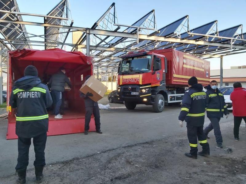 Stocuri suplimentate de materiale și echipamente medicale la Spitalului Județean Arad