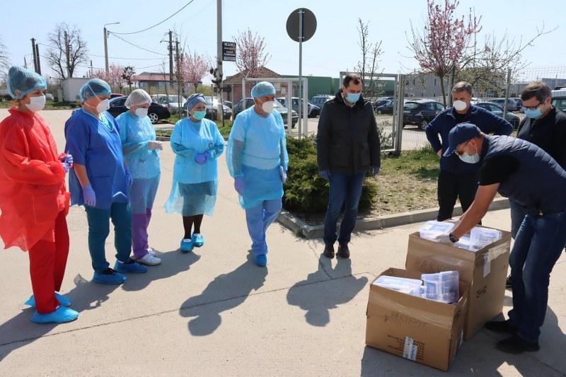 Donație importantă pentru  secția de infecțioase de la TBC