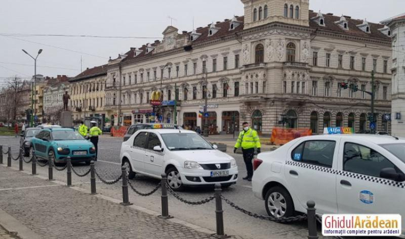 118 sancțiuni în ultimele 24 de ore pentru nerespectarea interdicțiilor de circulație în Arad