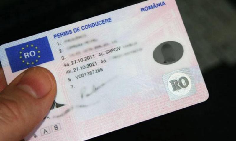 Bărbat din Craiva a vrut să preschimbe un permis de conducere FALS