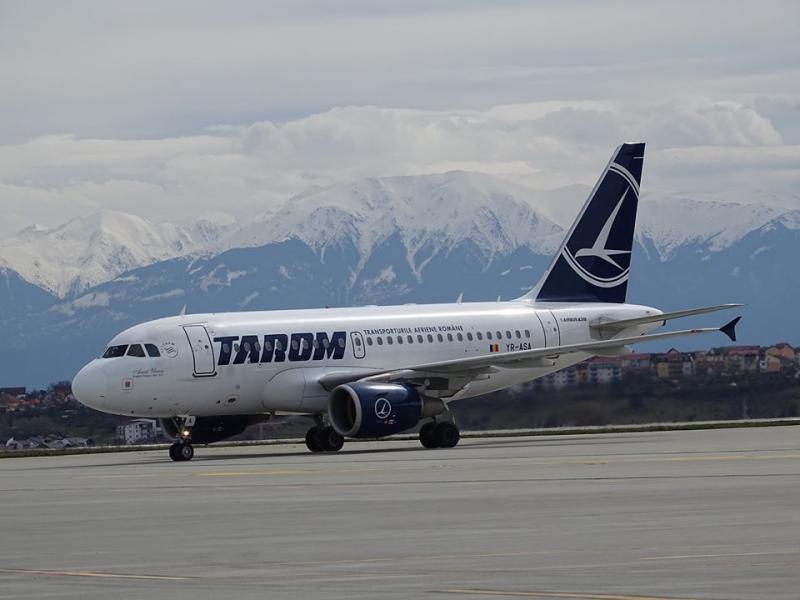 TAROM reia zborurile din 2 mai