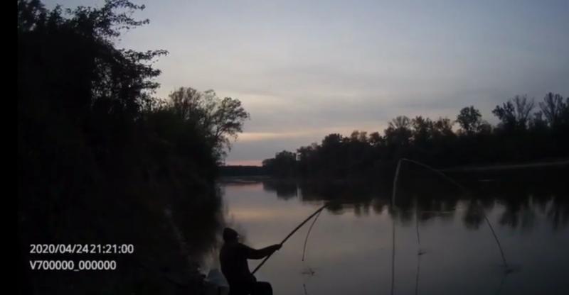 Un alt bărbat a fost prins la braconaj piscicol în apropiere de Pecica