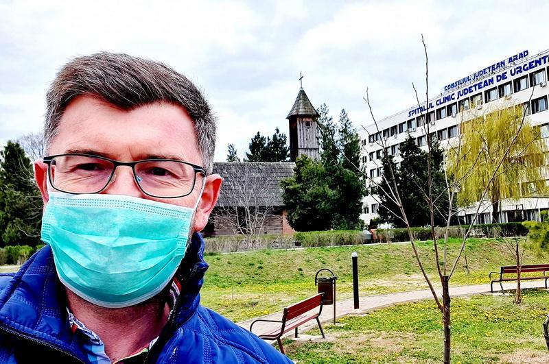 Povestea emoționantă a unui arădean, pacientului 102 infectat cu Coronavirus, vindecat și externat
