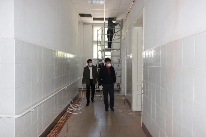 Încă o secție suport în Arad destinată pacienților infectați cu Coronavirus
