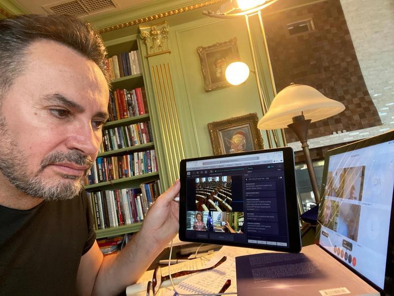 Gheorghe FALCĂ: Avem asigurată GRATUIT platforma pentru învățământul online!