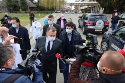 Ministrul Sănătăţii  Nelu Tătaru în vizită la Arad. Prima oprire: Spitalul Judeţean Arad - Declaraţii
